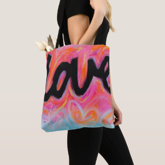 """LOVE"" Collection Medium Tote Bag"