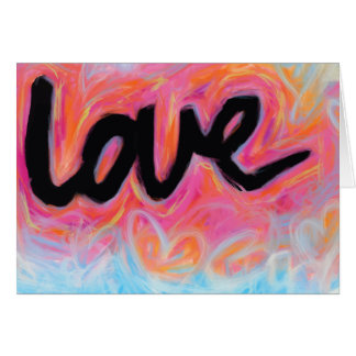 """LOVE"" Collection Note Card"