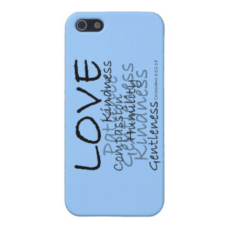 Love (Colossians 3) iPhone Case iPhone 5/5S Case