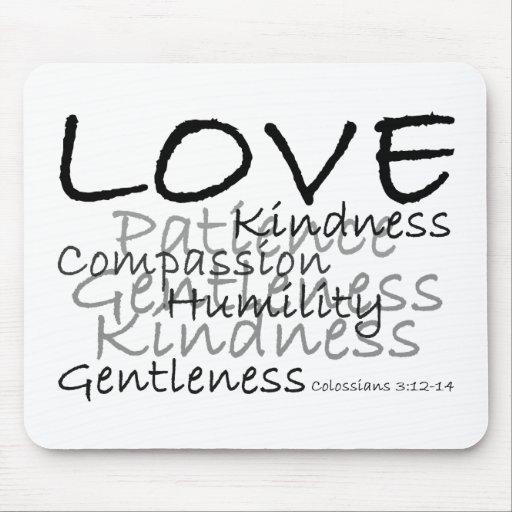 Love (Colossians 3) Mousepad