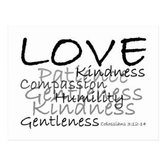 Love (Colossians 3) Postcard