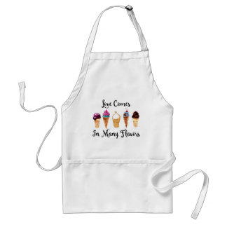 Love Comes In Different Flavors Standard Apron