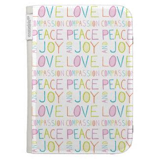 Love, Compassion, Peace, Joy Kindle Keyboard Case