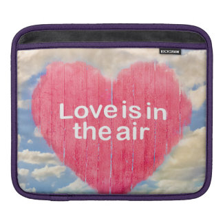 Love Concept Poster Design iPad Sleeve