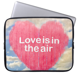 Love Concept Poster Design Laptop Sleeve
