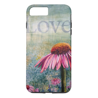 Love coneflower phone case