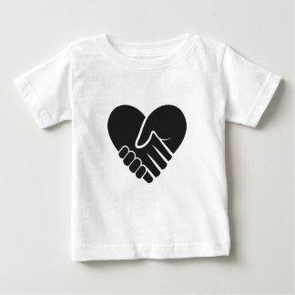 Love Connected black Baby T-Shirt