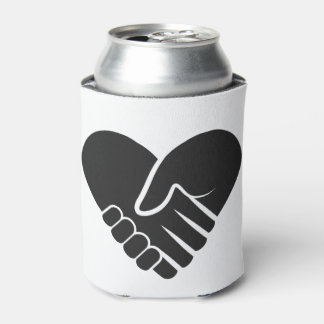 Love Connected black heart Can Cooler