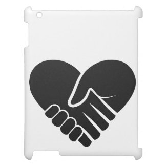 Love Connected black heart iPad Cases