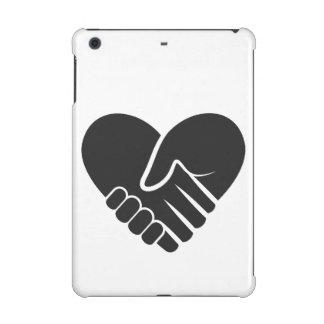 Love Connected black heart iPad Mini Covers