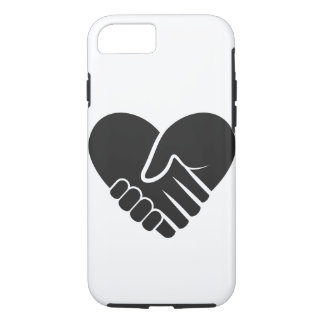 Love Connected black heart iPhone 8/7 Case