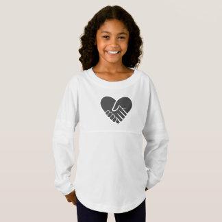 Love Connected black heart Jersey Shirt