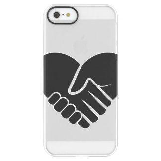 Love Connected black heart Permafrost® iPhone SE/5/5s Case