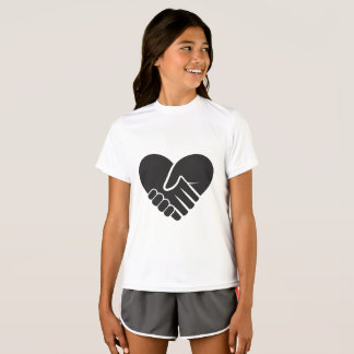 Love Connected black heart T-Shirt
