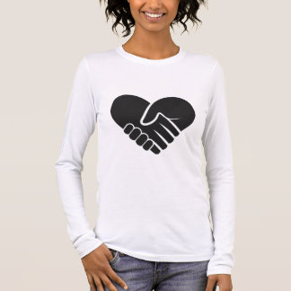 Love Connected black Long Sleeve T-Shirt
