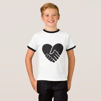 Love Connected black T-Shirt