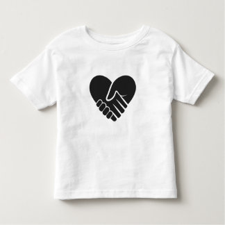 Love Connected black Toddler T-shirt