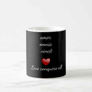 Love conquers all - coffee mug