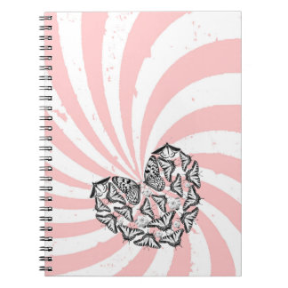 Love Conquers Hate 6.5 x 8.75 Notebooks