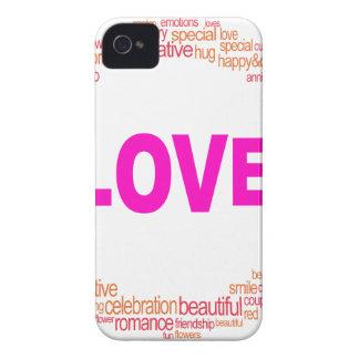 love cool circle design iPhone 4 Case-Mate case