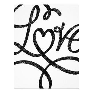love cool design letterhead
