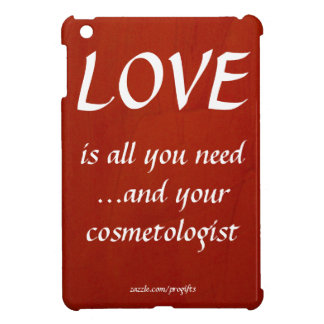 Love Cosmetologist 004 iPad Mini Covers