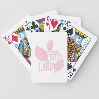 Love Cotton Candy Bicycle Playing Cards