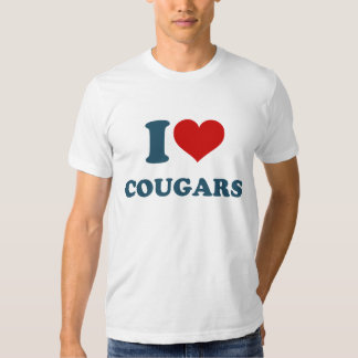 Love Cougars Tshirt