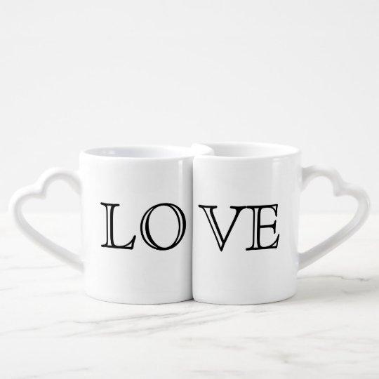 LOVE Couple's Mugs