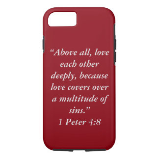 """""""Love Covers"""" Iphone 7 Tough Cell Phone iPhone 7 Case"""