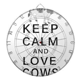 love cows dartboard