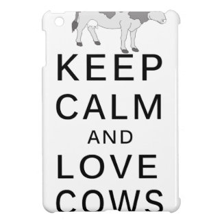 love cows iPad mini case