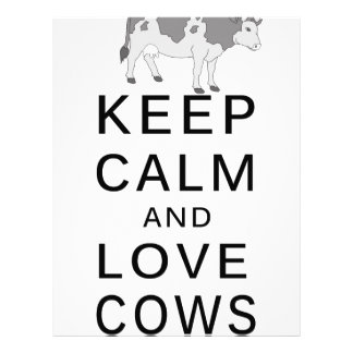 love cows letterhead