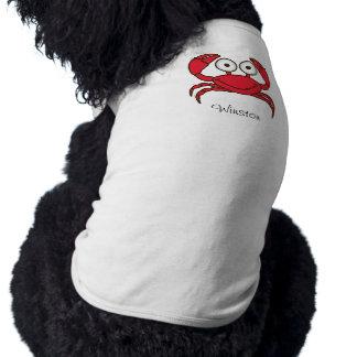 Love Crab Doggie Ribbed Tank Top Pet T-shirt