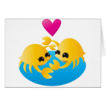 Love Crabs Greeting Cards