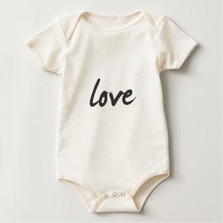 Love Creeper/Babygro Baby Bodysuit