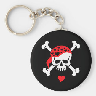 Love & Crossbones Keychain