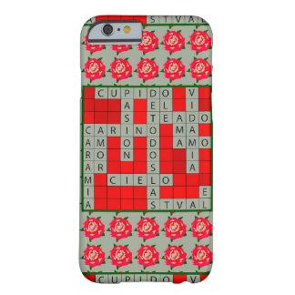 Love Crossword in Spanish on iPhone 6/6s Case