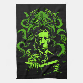 Love Cthulhu Kitchen Towel