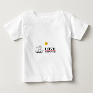 love cures all things baby T-Shirt