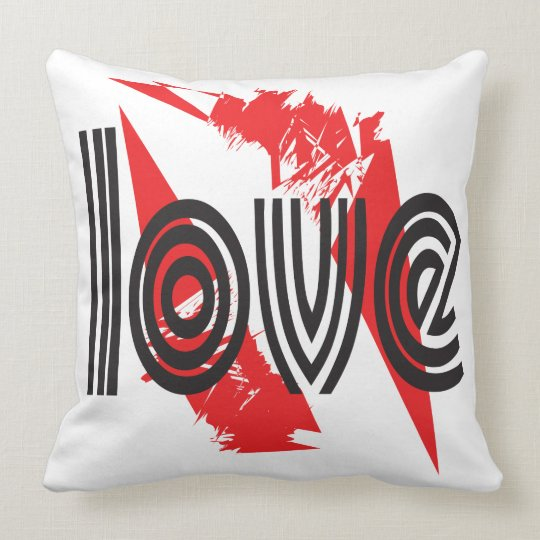 "Love Cushion of 20"" xs 20 """