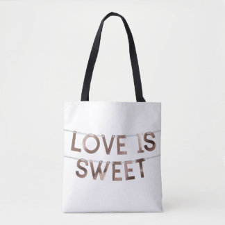 Love Custom All-Over-Print Tote Bag