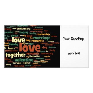 Love Custom Photo Card