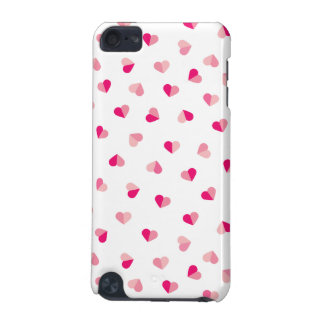 Love Cute Pink Heart Pattern iPod Touch 5G Case