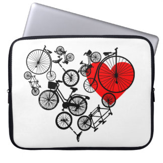 "Love Cycling 15"" Laptop Sleeve"