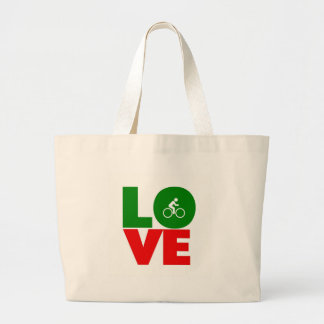 Love Cycling Tote Bags