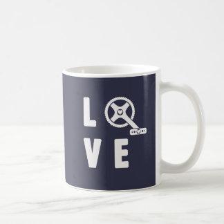 Love cycling coffee mug