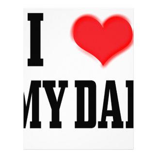 love dad custom letterhead
