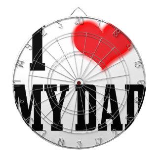 love dad dartboard