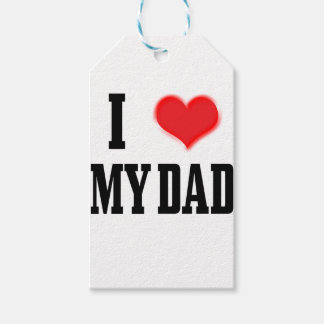 love dad gift tags